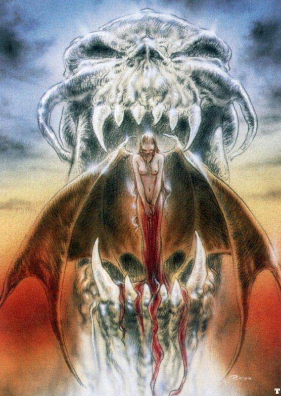 Louis Royo Арт Красивые картинки Фэнтези Scifi рисунок