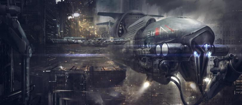 Арт Фэнтези Красивые картинки Scifi Cyberpunk Киберпанк