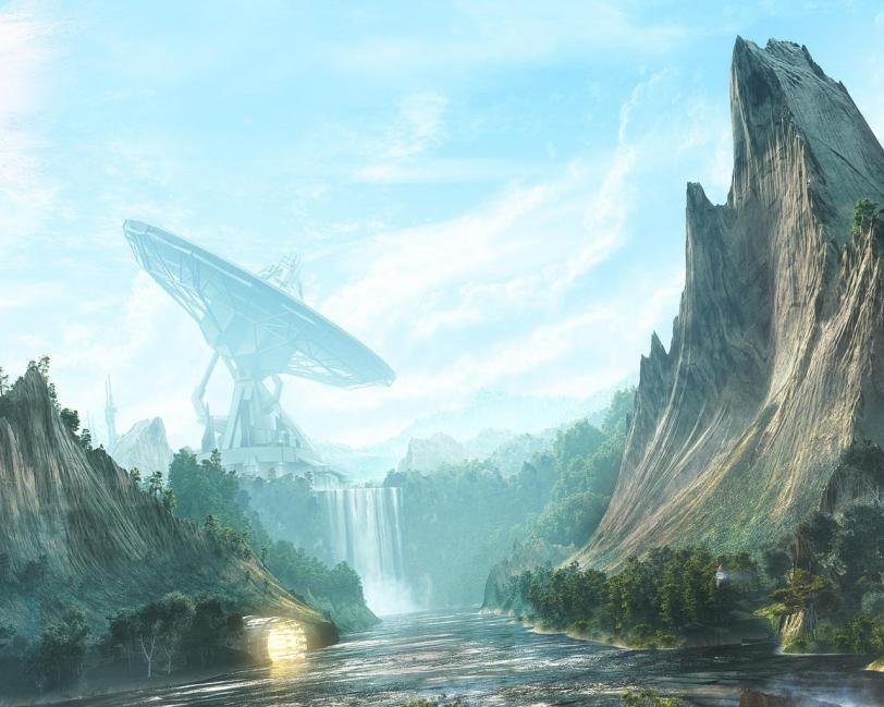 Арт Красивые картинки Scifi Обои