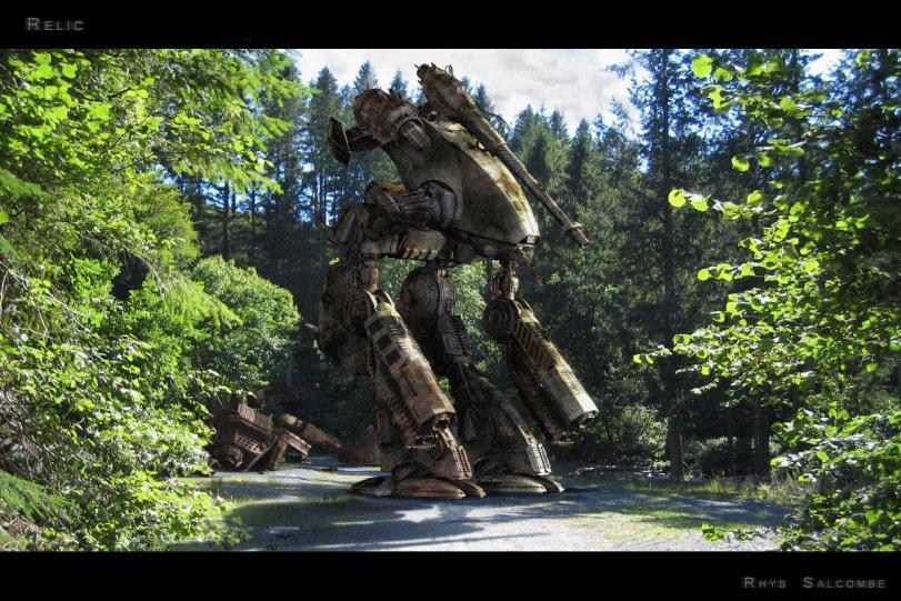 Арт Красивые картинки Mechwarrior Scifi