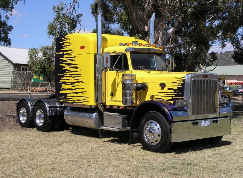 Фото Красивые картинки грузовик Peterbilt кликабельно