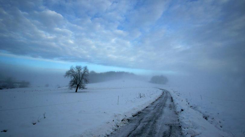Фото Красивые картинки Природа Зима снег кликабельно