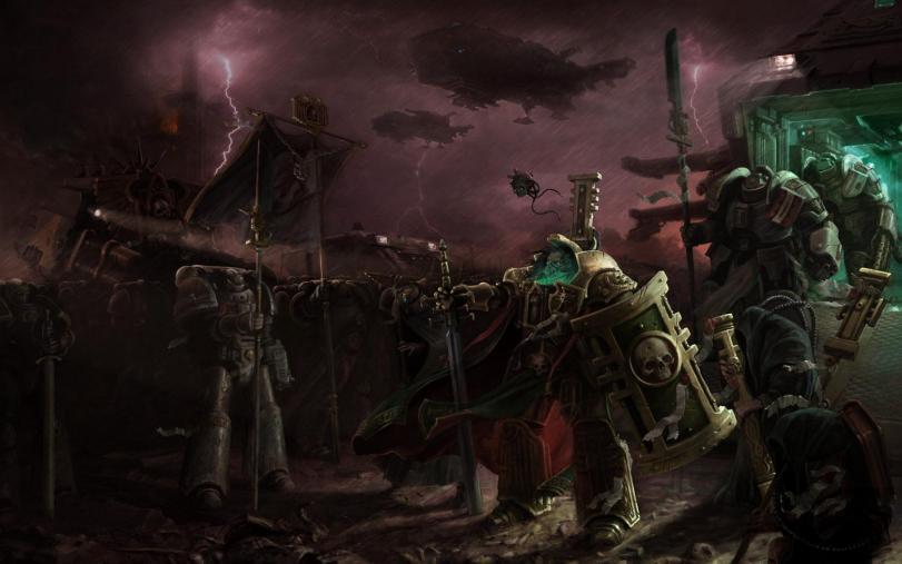 Арт Мрачные картинки Warhammer 40K Империя песочница