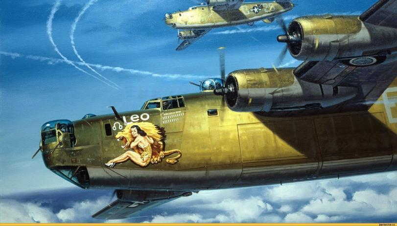 Арт Красивые картинки Техника USAF Вторая Мировая песочница