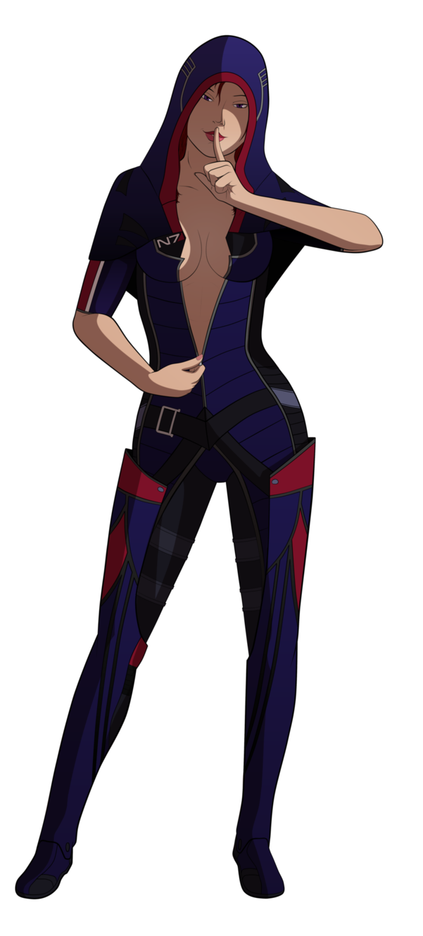 Красивые картинки Арт Sci-fi Mass Effect Kasumi Goto