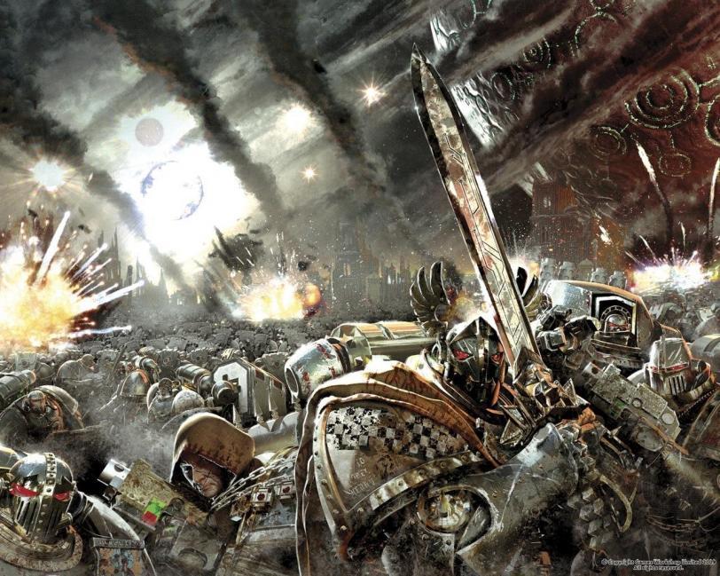 Grey Knights Warhammer 40K Арт пафос и превозмогание песочница