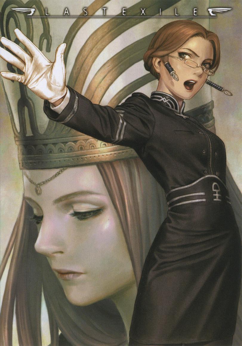 Арт Красивые картинки anime Last Exile Sophia песочница