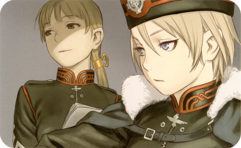Арт Красивые картинки anime Last Exile Alisiya песочница