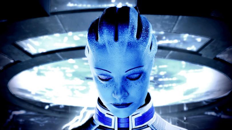 Mass Effect Liara Красивые картинки Scifi песочница