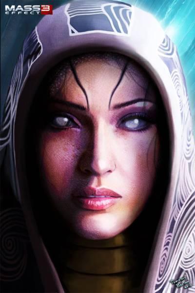Арт Красивые картинки Mass Effect Tali концептарт песочница