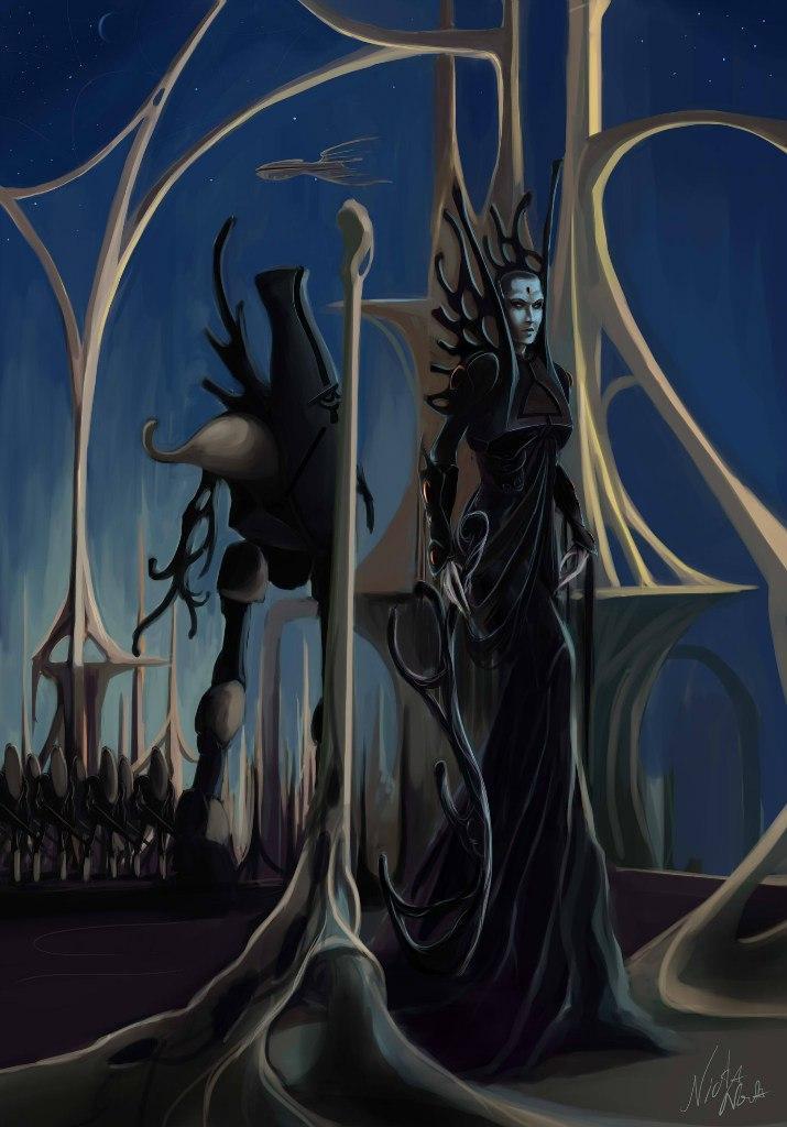 темные эльфы вархеммер dark eldar  Warhammer