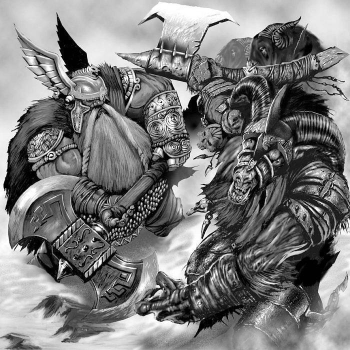 Дварф Warhammer FB Skavens