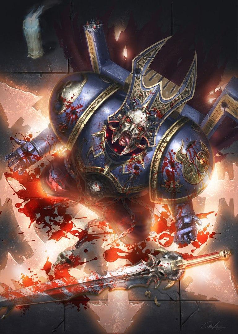 Warhammer Chaos Пафос хаос zarathur
