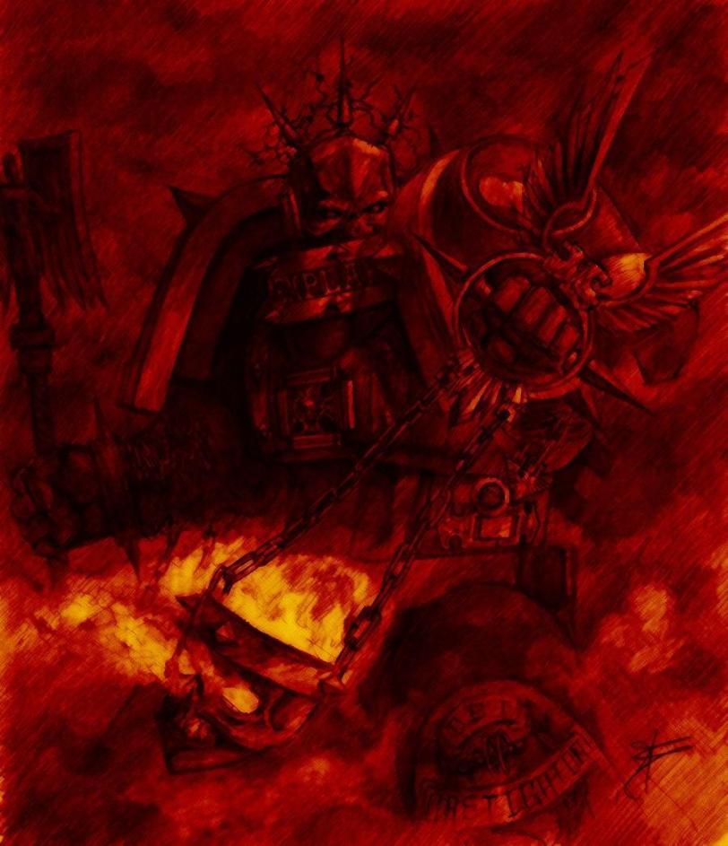 Warhammer 40K Мрачные картинки арт Красивые картинки
