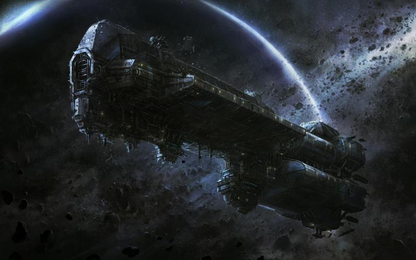 Арт Космос Scifi кликабельно песочница