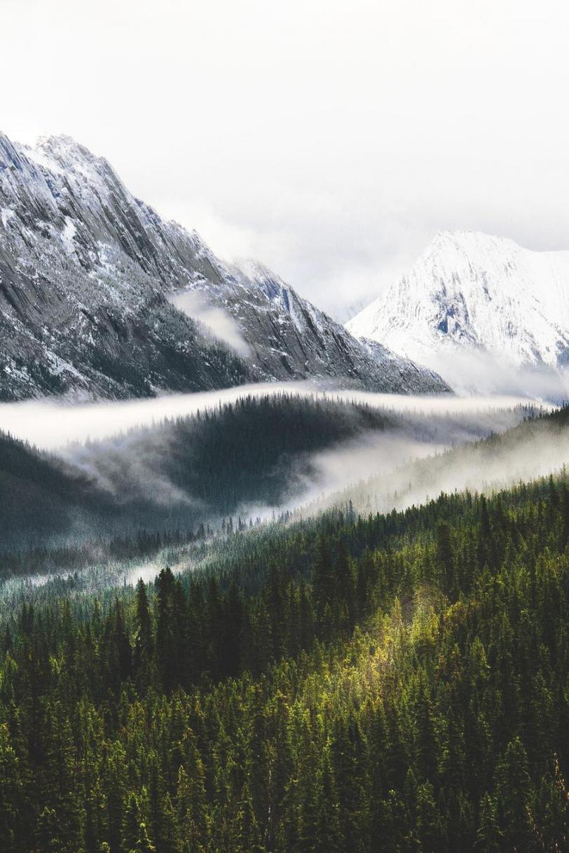 Фото Красивые картинки горы Природа