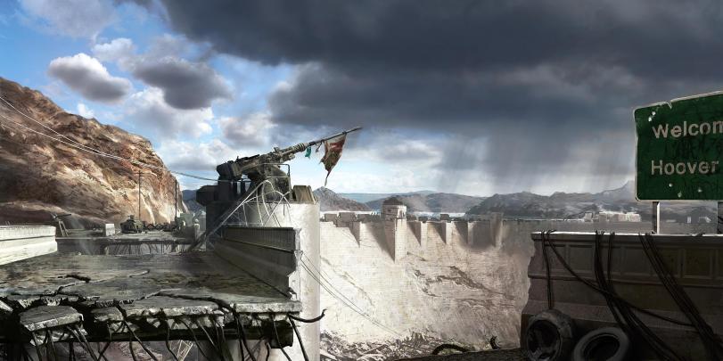 Арт Мрачные картинки Fallout кликабельно песочница