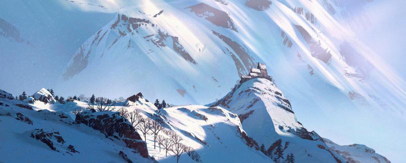 Арт Красивые картинки Природа горы песочница
