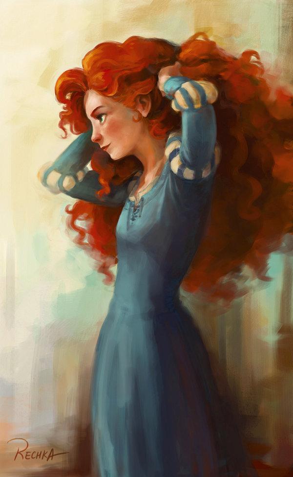 Арт Красивые картинки Храбрая сердцем Мерида