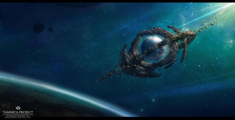 Blackie Chung Tammica Project Арт Красивые картинки Scifi Космос