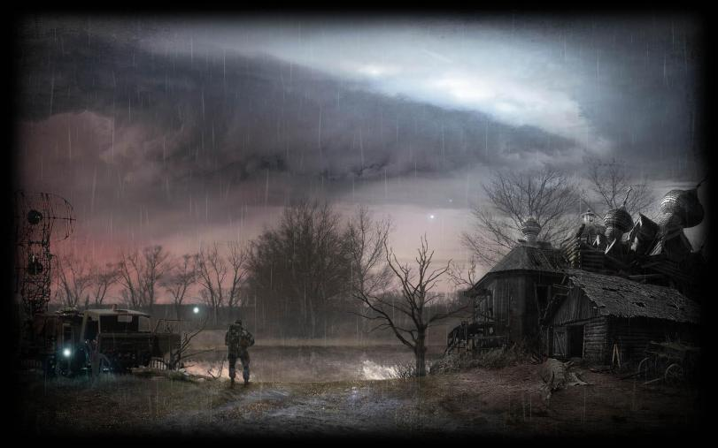 Арт Мрачные картинки Сталкер