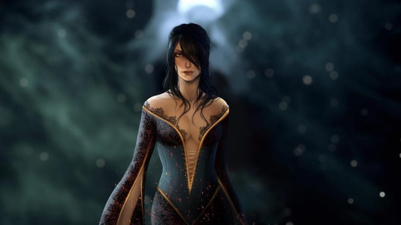 Арт Фэнтези Dragon Age Морриган