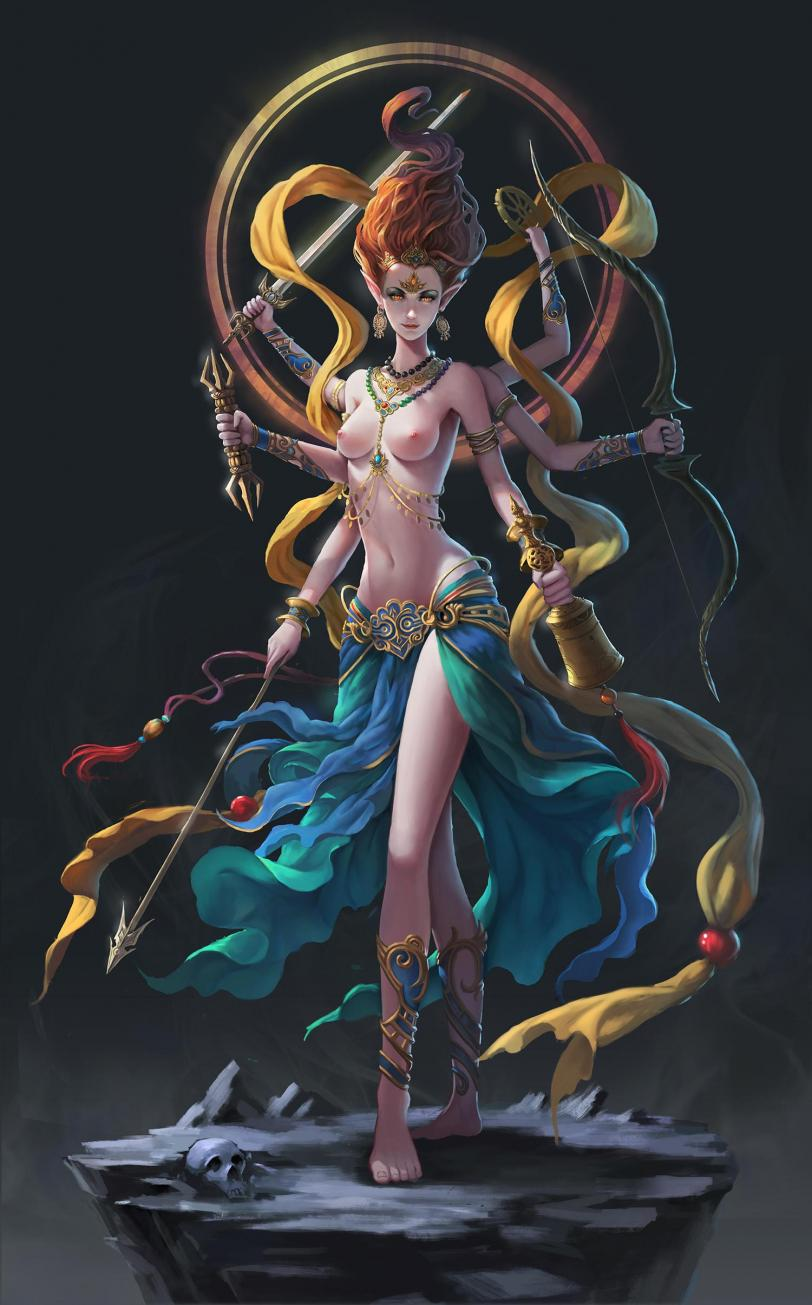 Арт Фэнтези Красивые картинки богиня hires