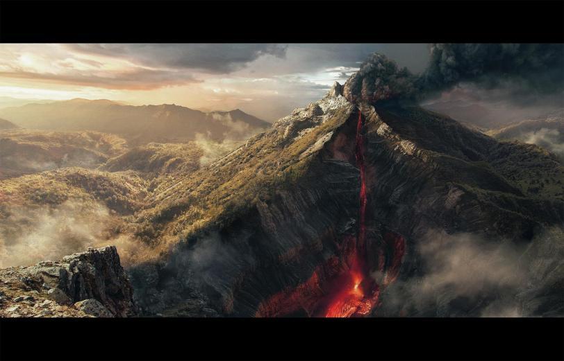 Арт Природа вулкан hires