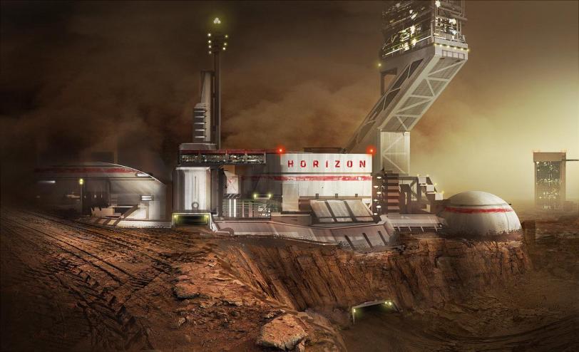 Арт Красивые картинки Scifi Марс