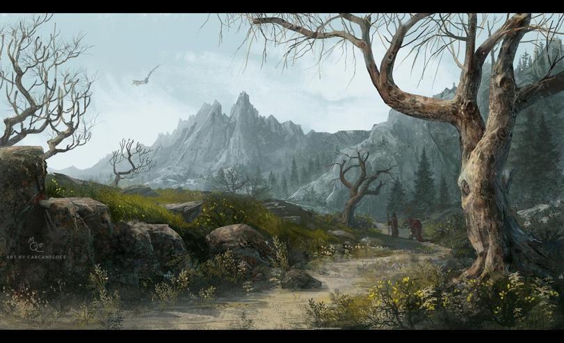 Арт Красивые картинки Фэнтези The Elder Scrolls