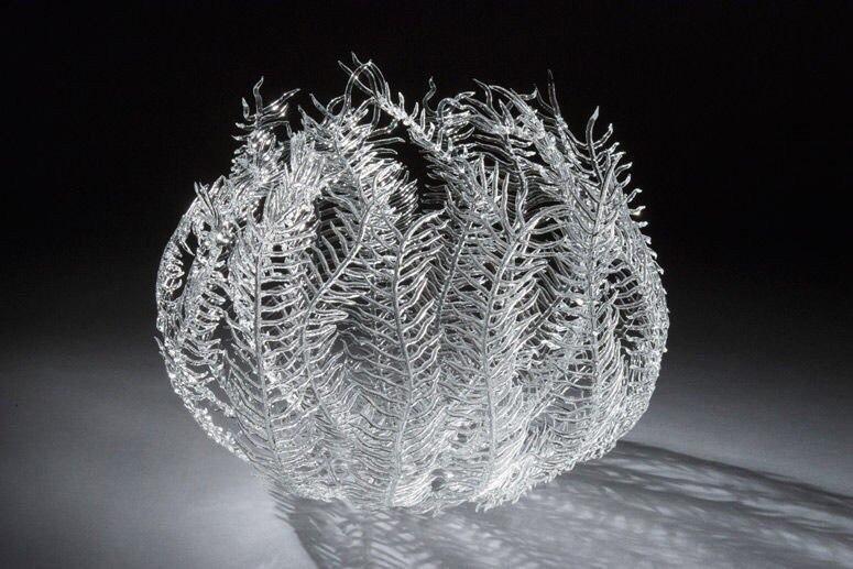 стекло скульптура хендмейд лэмпворк прямые руки Эмили Вильямс работа со стеклом Искусство